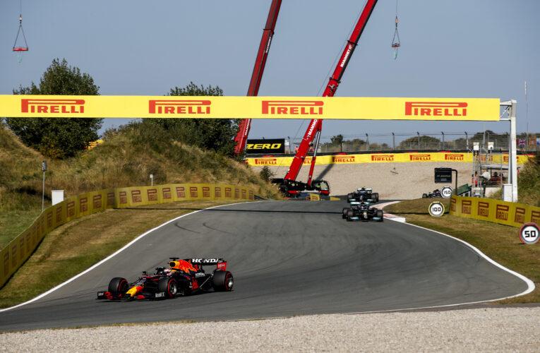 Verstappen ganó usando los tres compuestos