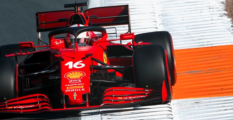 Ferrari lidera en Zanvoort con neumáticos suaves
