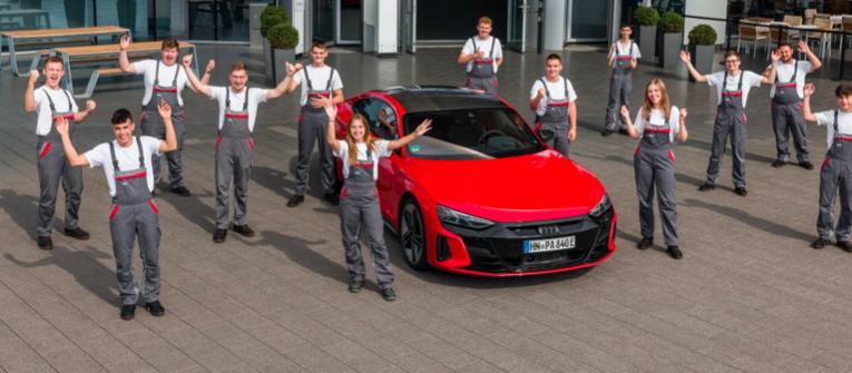 Formación profesional en Audi, las carreras del mañana
