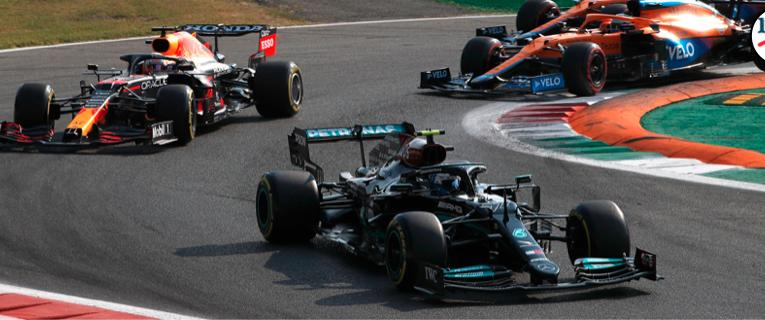 Bottas ganó el sprint con neumáticos C3
