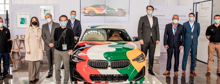 Convierten al nuevo BMW Serie 2 Coupé en una obra de arte