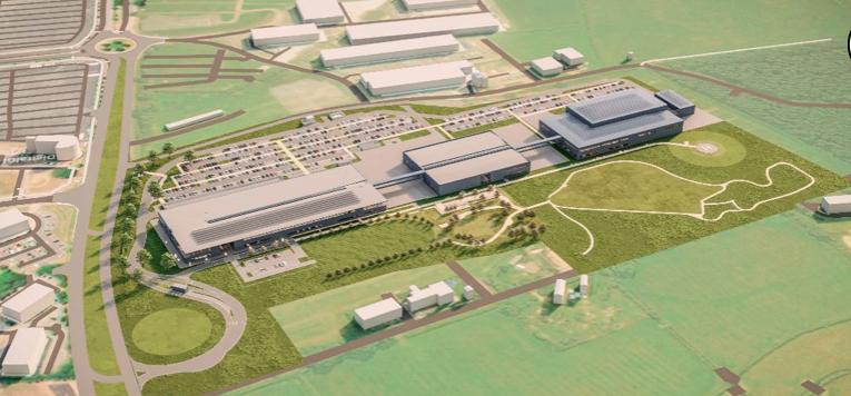 Aston Martin inicia la construcción de su nueva fábrica