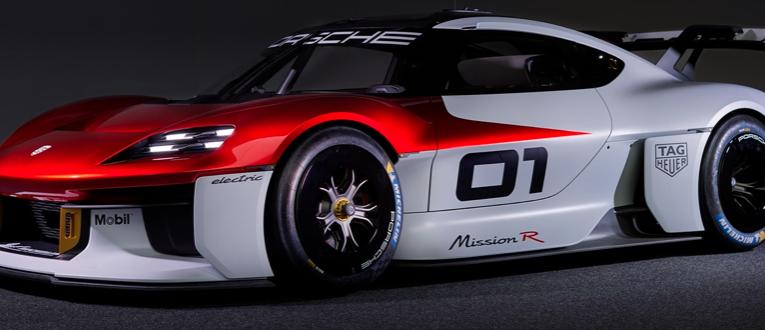 Porsche presentó su prototipo futurista Mission R