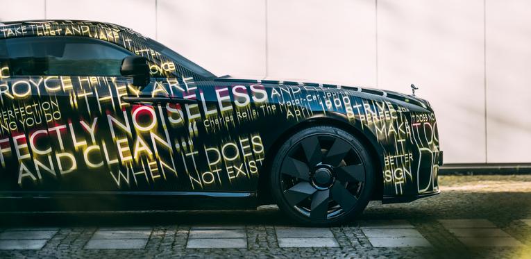 Rolls-Royce anuncia a su primer auto 100% eléctrico