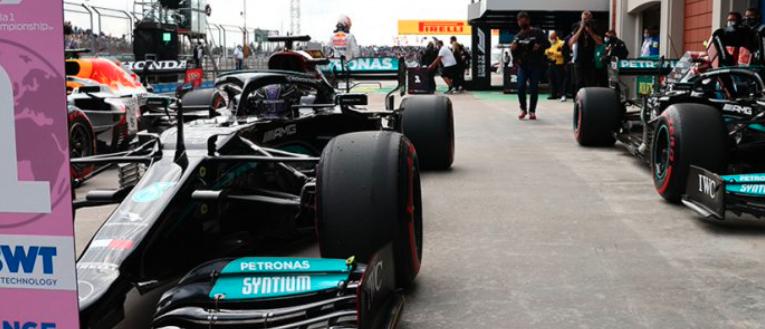 Hamilton y Bottas, los más rápido en Turquía GP