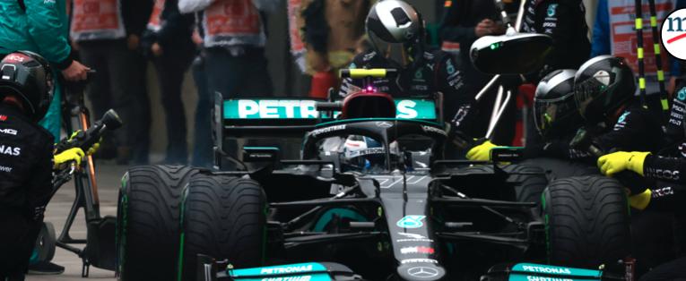 Solo neumáticos intermedios en Turquía GP