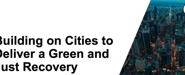 La recuperación verde de las Ciudades fue aumentada $267 BN