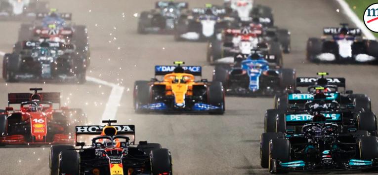 Calendario 2022 de la F1