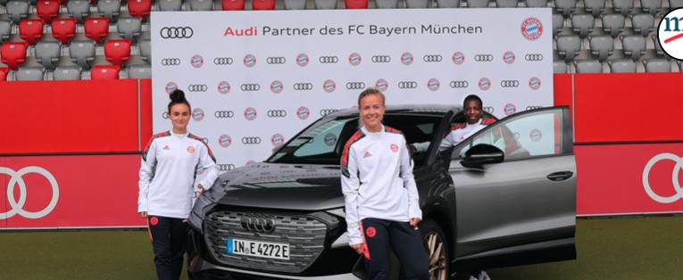 Audi es socio del FC Bayern de Múnich femenil