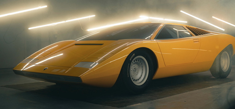 Reconstruyen al primer Lamborghini Countach