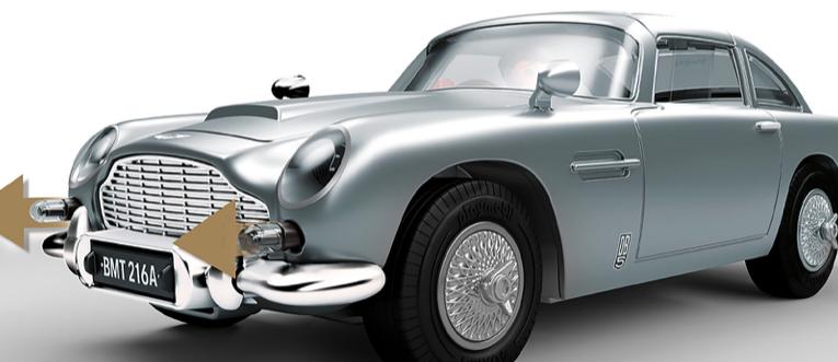 Galería: Aston Martin DB5 (1964) de Goldfinger