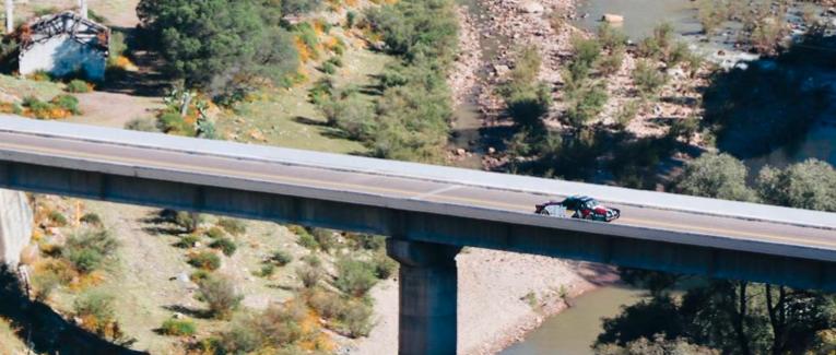 La Carrera Panamericana llegó a Durango