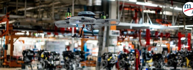 Video: Drones en la fábrica del futuro